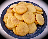 Sugared Vanilla Butter Cookies