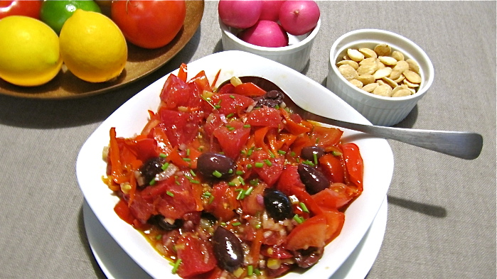 tomatoes-preserved-lemons-and-sweet-red-peppers