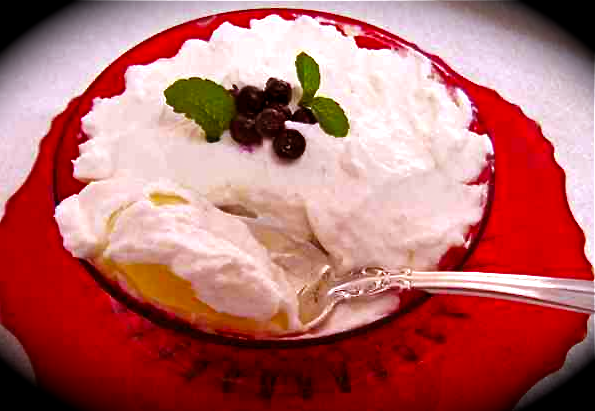 Lemon Trifle with Berries
