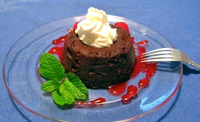 Current Chocolate Molten Lava Cake