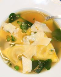 Quick and Easy Tortellini or Ravioli Soup
