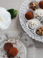 Dark Chocolate Truffles – Traditional or Vegan